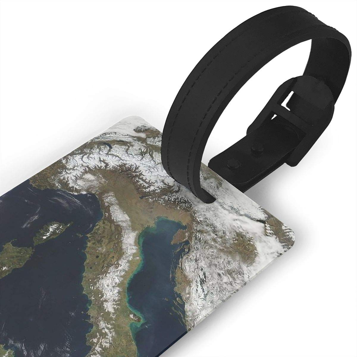 World Map Cruise Luggage Tag For Suitcase Bag Accessories 2 Pack Luggage Tags