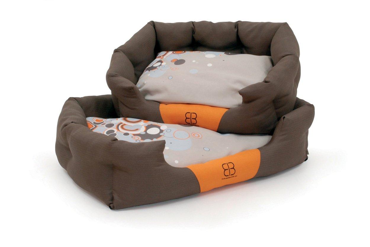 Large Petego Sparkling Dream Bolster Pet Bed, Large