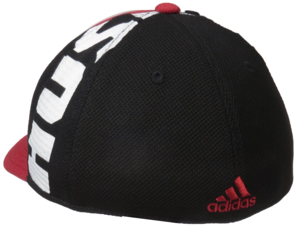 detailed look 3ab6b 9f523 Amazon.com   adidas NCAA Mens City Structured Flex w Meshback   Sports    Outdoors