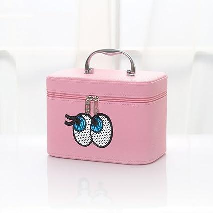 Caja de cosméticos para maquillaje de belleza, caja de cosméticos, caja de tocador,