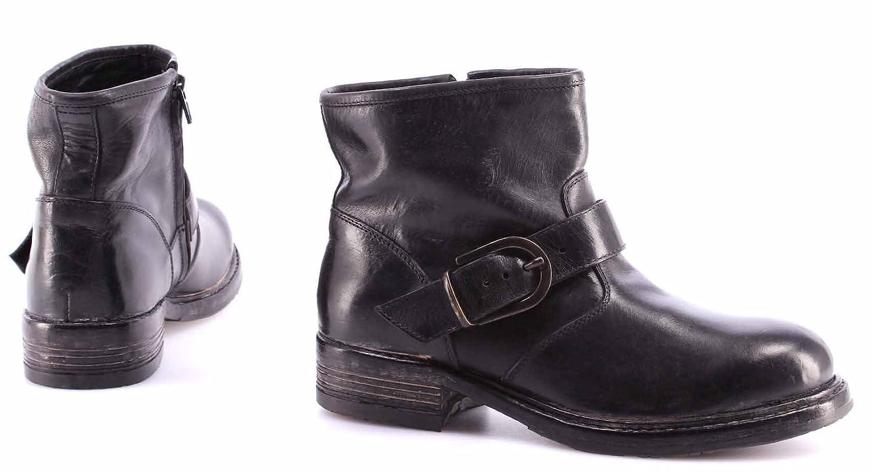 Damen Schuhe Stiefeletten 80506-V1 Hannover Nero Leder Schwarz Vintage IT Moma 2018 Neu Zu Verkaufen Online Zahlen Mit Paypal Verkauf L2cnQXClcp