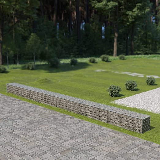 Muro de gaviones con Cubiertas Acero galvanizado 900x50x50 cmCasa y jardín Jardín Jardinería: Amazon.es: Hogar