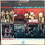 THE MAR KEYS/BOOKER T & M.G'S BACK TO BACK vinyl record