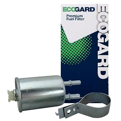 ECOGARD XF65768 Engine Fuel Filter - Premium Replacement Fits Chevrolet Cobalt / Saturn Ion / Pontiac G5, G3, G3 Wave