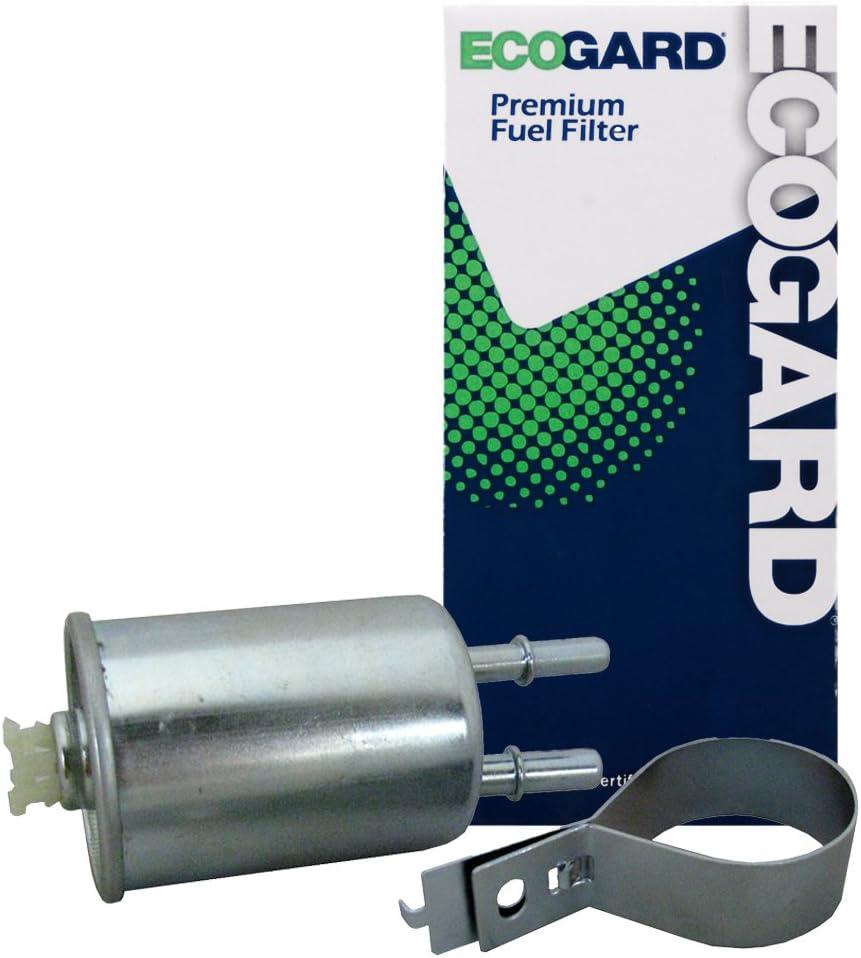 ECOGARD XF65768 Engine Fuel Filter Premium Replacement Fits Chevrolet Cobalt//Saturn Ion//Pontiac G5 G3 Wave G3