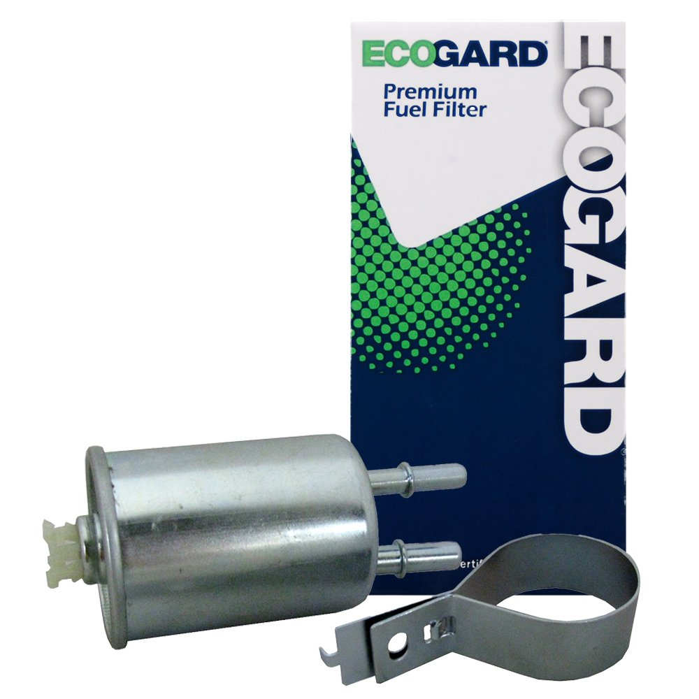 ECOGARD XF65768 Engine Fuel Filter - Premium Replacement Fits Chevrolet Cobalt/Saturn Ion/Pontiac G5, G3, G3 Wave