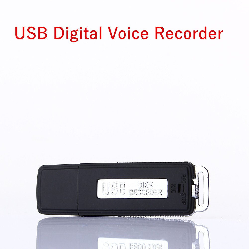 Oulisheng-8GB-Digital Voice Recorder&USB Flash Drive Multifunctional Rechargeable Mini Audio Recording Device - Portable Dictaphone