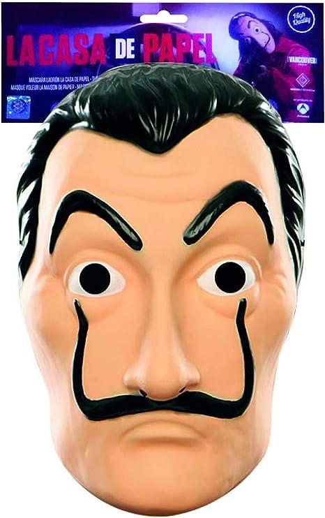 Original Cup - Máscara Oficial La Casa De Papel - Máscara de Salvador Dali para Cosplay, Disfraz, Fiesta: Amazon.es: Juguetes y juegos