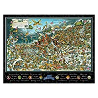 Joe Journeyman 9029762 Seattle Seahawks Seek & Find Adventure Puzzle, Multicolor