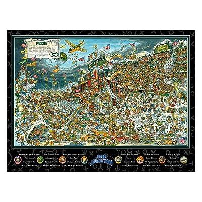 Joe Journeyman 9029762 Seattle Seahawks Seek & Find Adventure Puzzle, Multicolor