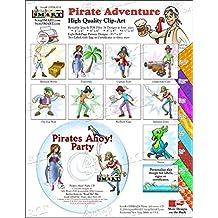 ScrapSMART - Pirate Adventure - Clip Art Software Collection - Jpeg & PDF files (CDPIRA174)