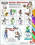 ScrapSMART - Pirate Adventure - Clip Art Software Collection - Jpeg & PDF files (CDPIRA174)