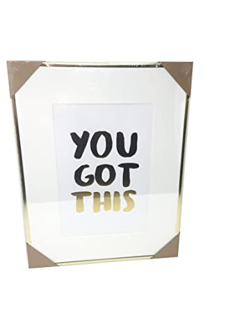 Amazon.com: Celebrate Shop \'You Got This\' Inspirational Framed Print ...