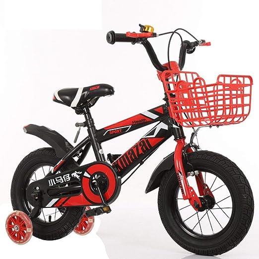 XHLJ Bicicleta de 2 a 10 años niños y niñas, estabilizador para ...
