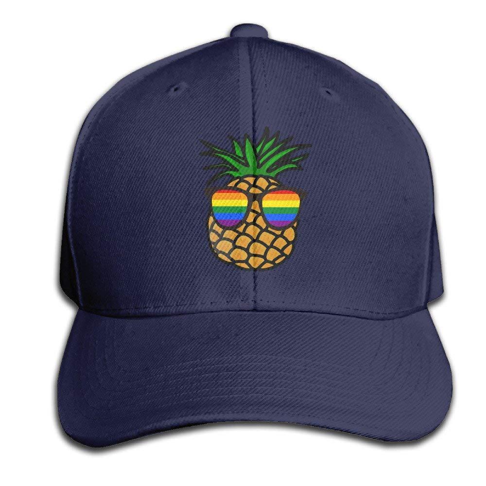 Miedhki Orgullo Gay Piña Gorras de béisbol Ajustables Sombrero de ...