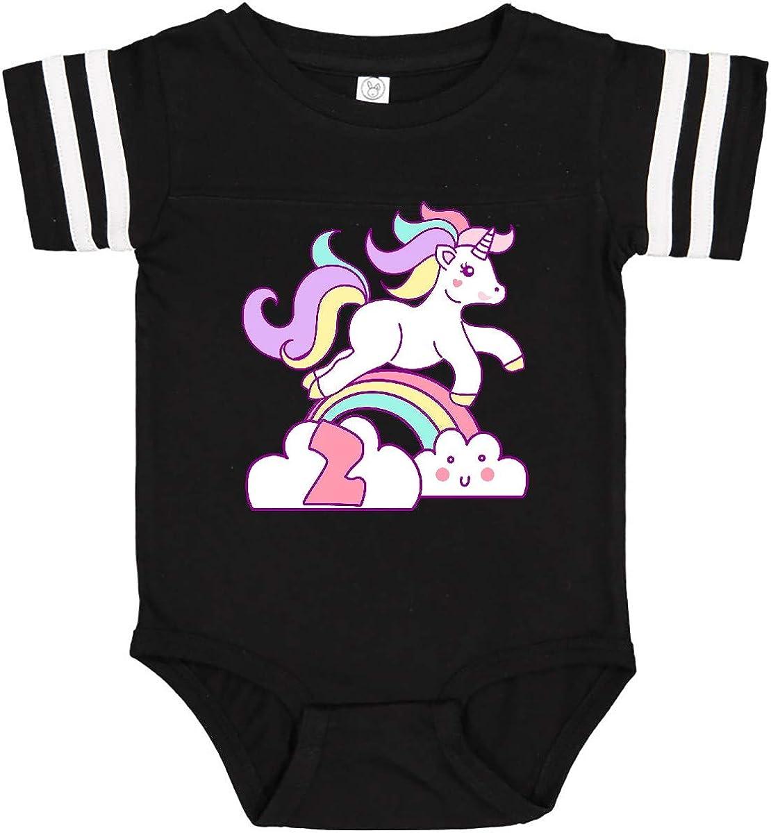 inktastic Unicorn 2nd Birthday Infant Creeper