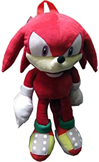fdd8ca1155 Plush Backpack - Sonic The Hedgehog - Knuckles Soft Doll 18