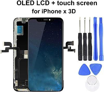Kit Completo de reparación de Pantalla para iPhone X, con Kit de ...