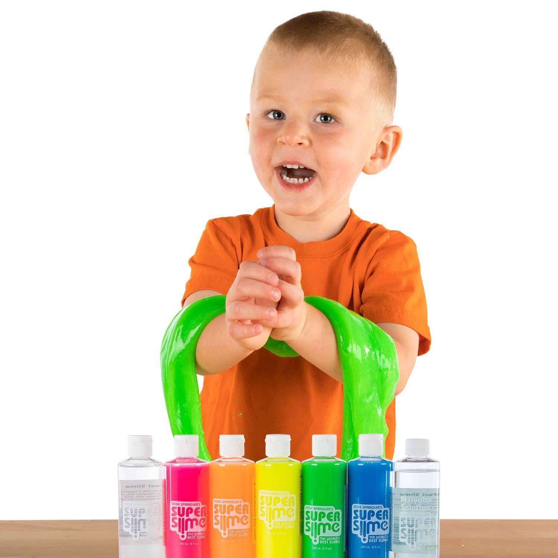 Steve Spangler Science Rainbow Super Slime, DIY Slime Kit, 6 Bottles by Steve Spangler Science (Image #5)