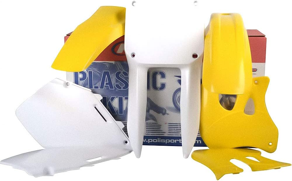 Suzuki RM 125 T RF15A RF15A Polisport Motocross Schutzblech Set Komplett-Kit f