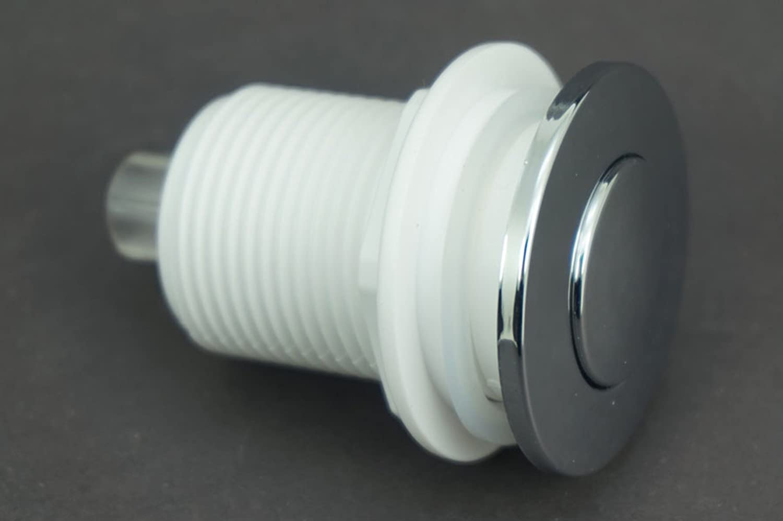 Waste Garbage Disposal Self-Lock Air Switch For Whirlpool Bath Tub Spa Home Tool