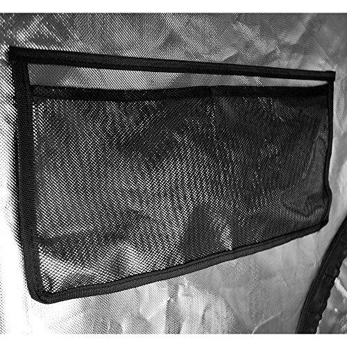 "61BhkPHYJfL - Matrix Horticulture 48""x48""x80"" Grow Tent Diamond Mylar 600D Hydroponic Growing Room Box for Indoor Plants Observation Window Arch Door D Design 4x4"
