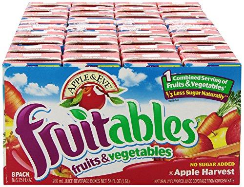 Apple & Eve Fruitables, Apple Harvest, 8 Count, Pack of 5
