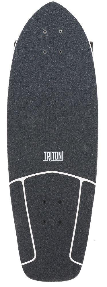 Triton 29 Red Diamond Complete Surf Skate Board CX Carver