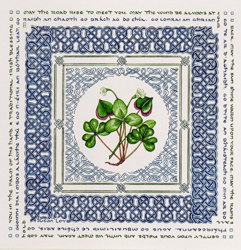 Irish Blessing Note Cards by Literary Calligraphy