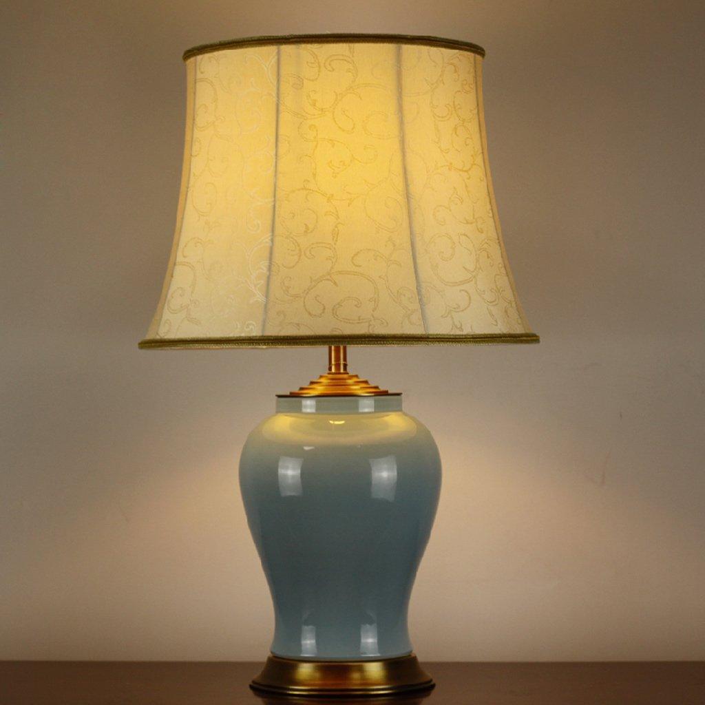 Die neue hochwertige Keramik-Lampe Schlafzimmer Nacht chinesischen Hochzeit den Wohnzimmer dekoriert Villa