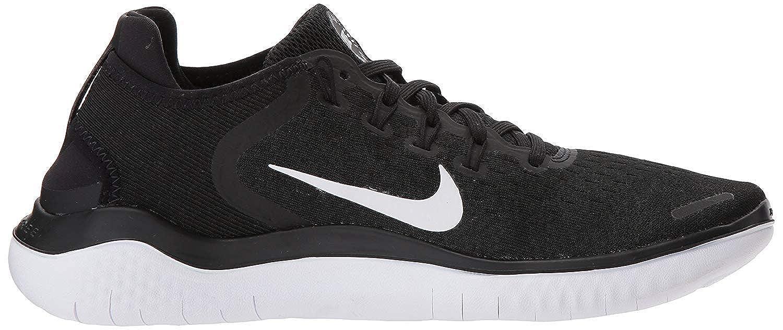 f57495de14 Amazon.com | Nike Women's Free RN 2018 Running Shoe 942837-001 Black/White  | Road Running