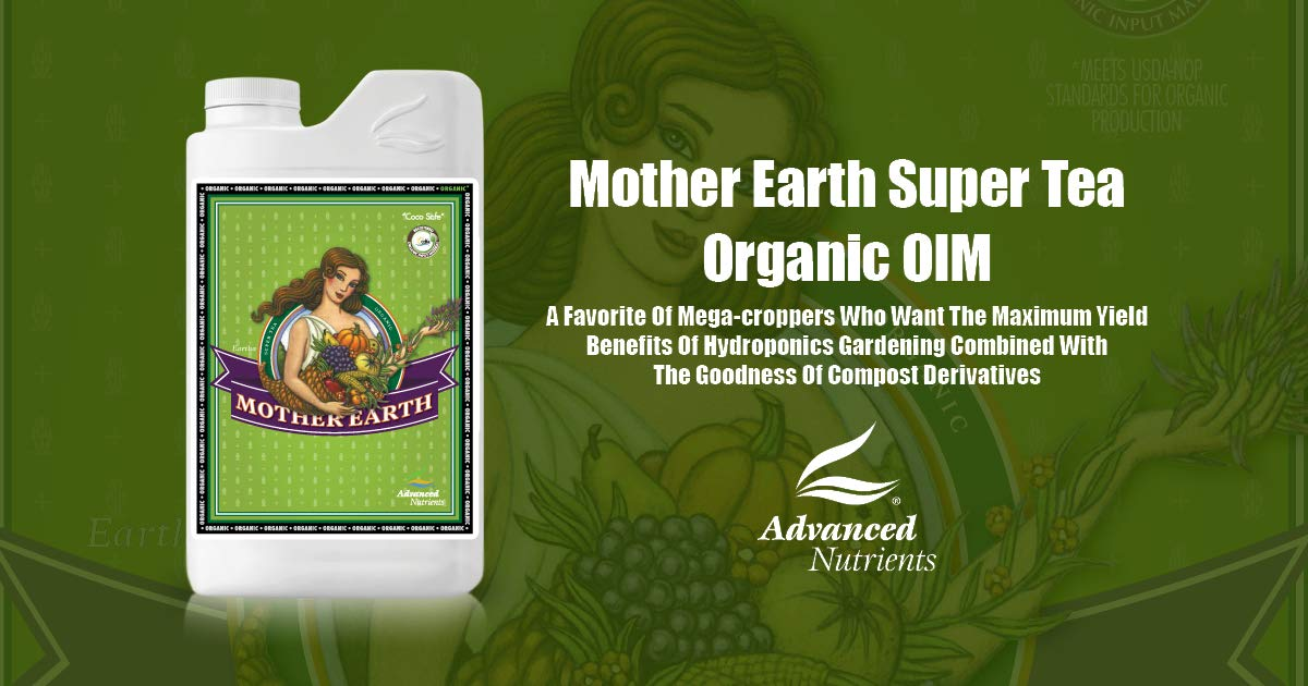 Advanced Nutrients Mother Earth Super Tea Organic OIM 4 Liter by Advanced Nutrients