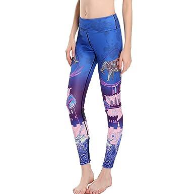 407678bea4f34 Xnrhh Women S Elephant Printed Leggings Yoga Pants Active Workout