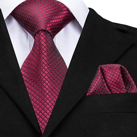 WOXHY Corbata de los Hombres Corbata Corbatas de Seda Hombres ...