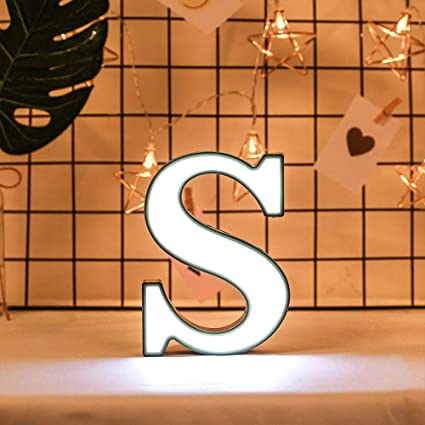 Amazon.com: 2Krmstr - Señal con luces LED para letras ...