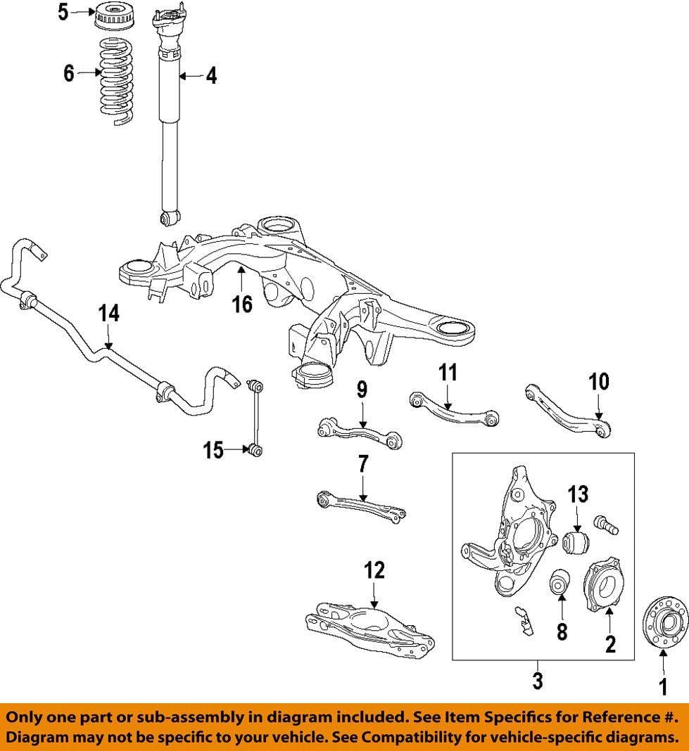 Shock Absorber Mercedes-Benz 204 326 05 00