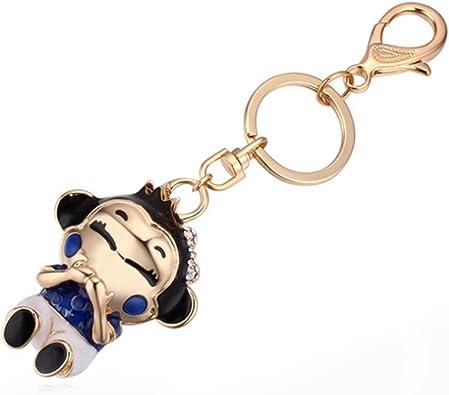 Il pendente di fascino della novità del keychain della scimmia del