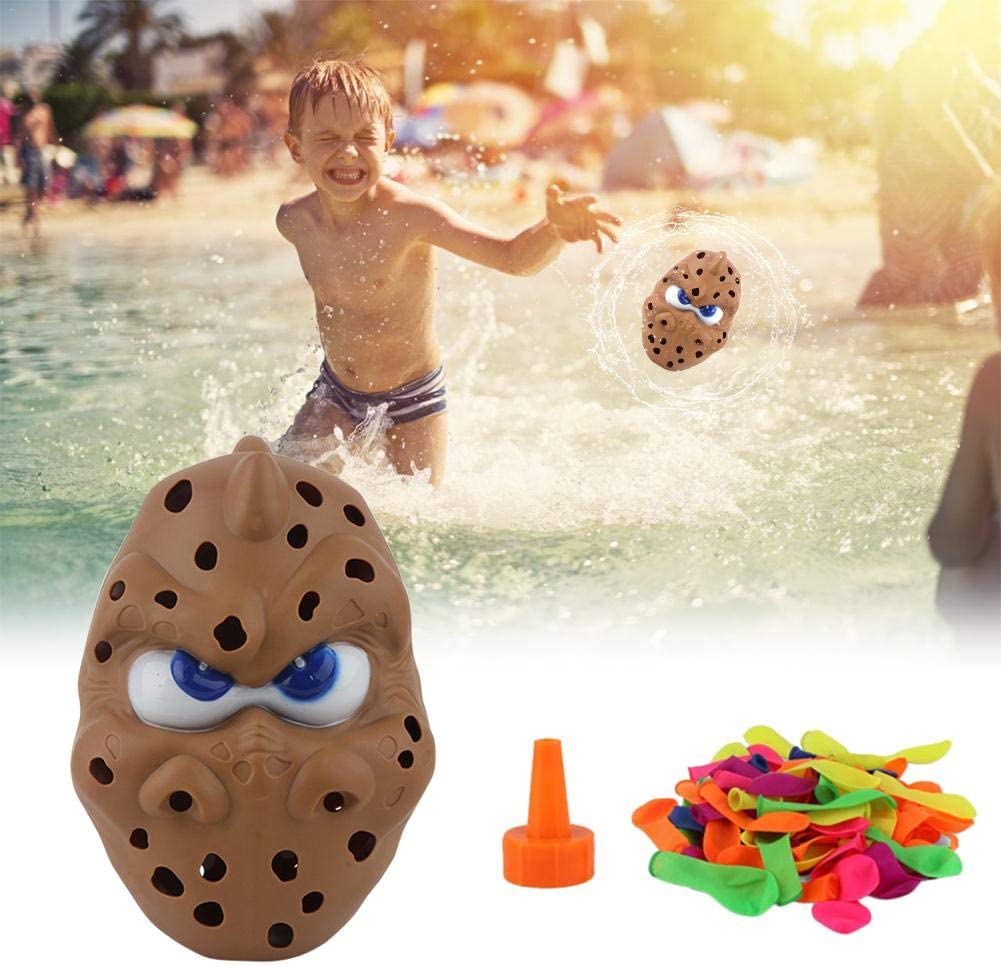 Foliner Water Balloon Toy Portable Prank Tricky Toys Sealing Water Bombs Bunch Potato Water Toy for Children Outside Outdoor