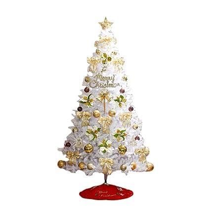 white christmas tree illuminated led decoration package christmas decoration scene arrangement 1518 - Amazon White Christmas Decorations