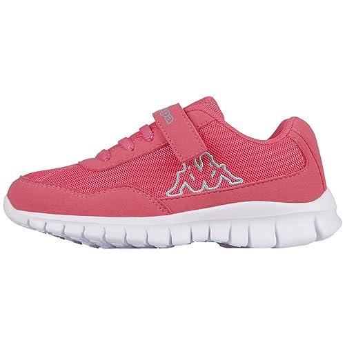 Kappa Apollo Kids, Zapatillas para Niñas, Pink (2737 l'Pink/Mint), 32 EU