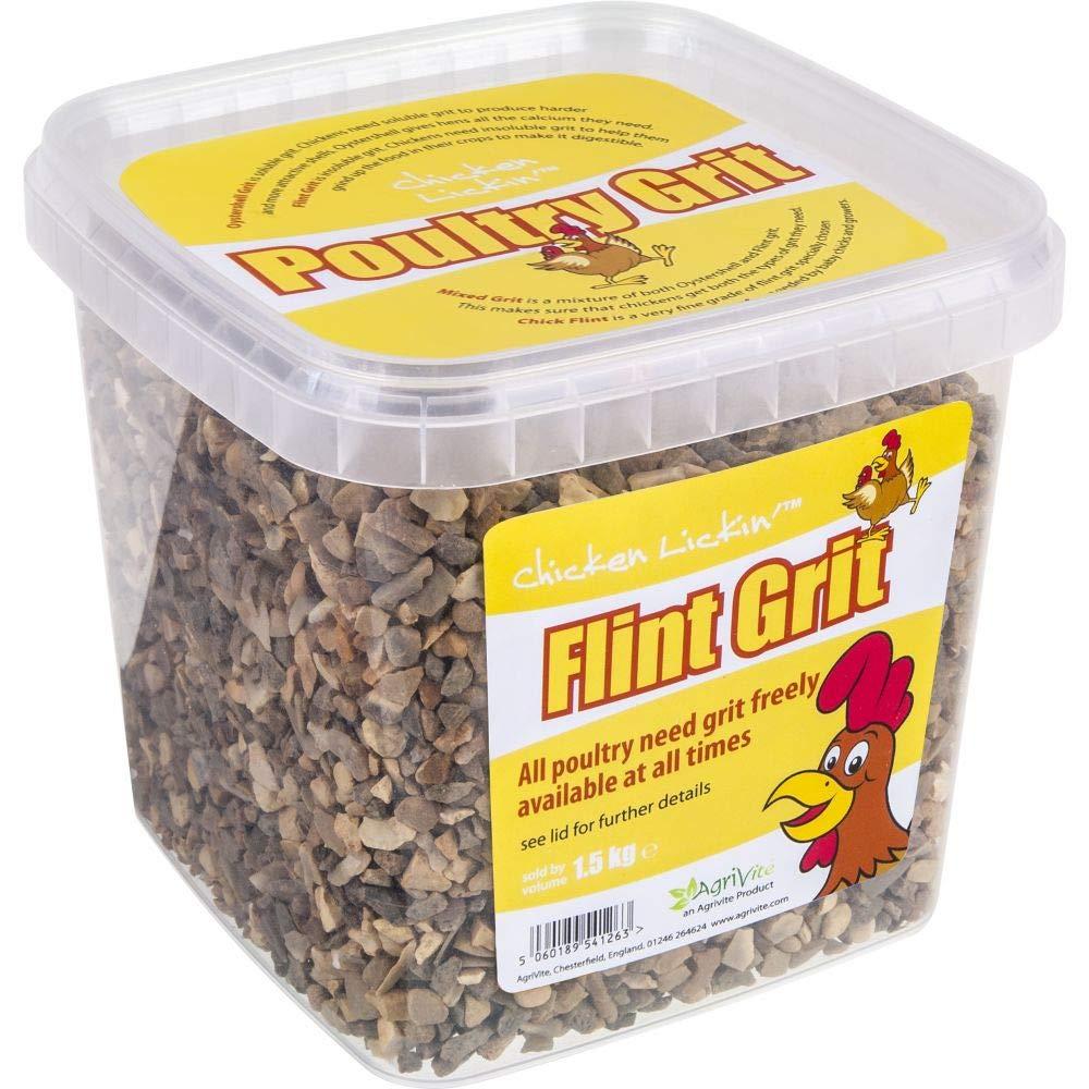 Agrivite Flintgrit Poultry Grit 1.5kg 1500g
