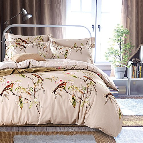 product bird quilt floral queen linen sheets bed california cotton double cheap set thick full butterfly bedding king bedspreads cover duvet print size sets