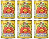 italian plum tomatoes - San Marzano DOP Authentic Whole Peeled Plum Tomatoes (6 Pack)