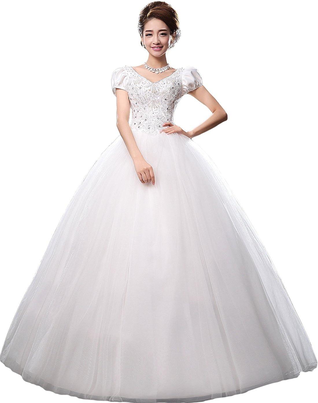 e02d833a7a3 V Neck Wedding Dresses 2017 - Gomes Weine AG
