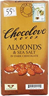 product image for Chocolove - Dark Chocolate Bar Almonds & Sea Salt - 3.2 oz (pack of 2)