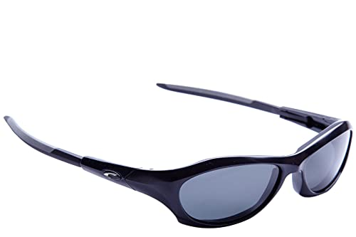Carrera gafas de sol hombre polarizadas de deporte envolventes running atom negr