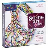 Craft-tastic String Art Kit - Craft Kit Makes 3 Large String Art Canvases