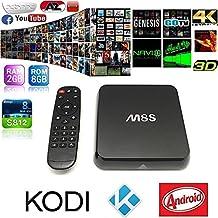 MarsKing M8S Android 4.4 TV Box Amlogic S812 Quad core,4K HD,2GB Ram/8GB Rom,Dual Band WiFi,Bluetooth 4.0 Ott for Streaming TV