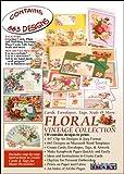 Software : ScrapSMART - Floral Vintage Collection: Cards, Envelopes, Tags, Seals, & More [Download]