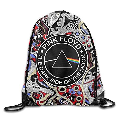 IYaYa Dark Side Of The Moon Drawstring Backpack Sports Bag